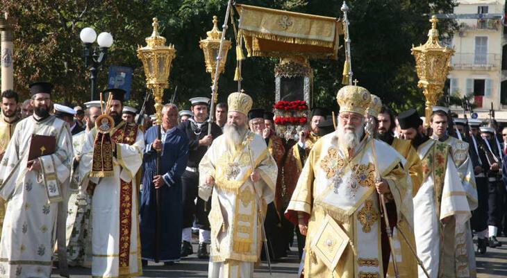 Посещение Крестного хода с мощами святителя Спиридона Тримифунтского + однодневный круиз на остров Кефалонья