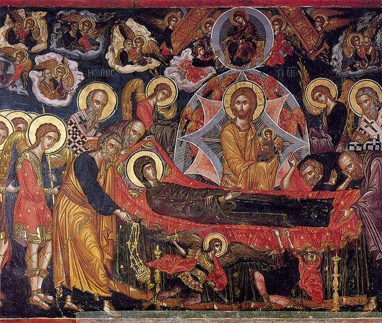 Крестный ход на острове Корфу.  Праздник Успения Пресвятой Богородицы и чудеса  на острове Кефалония